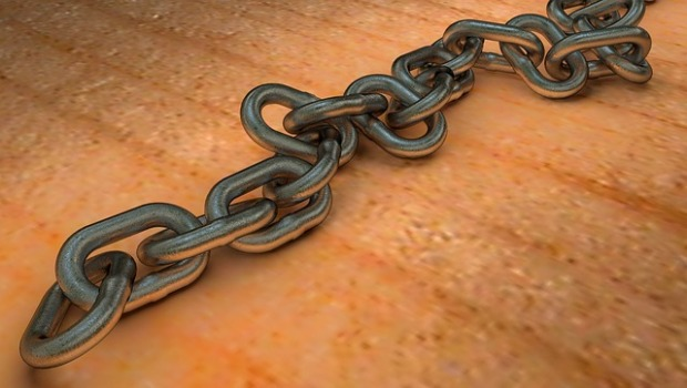 Chains may not be liberating but they can make things more interesting.  (Image is in the public domain.)