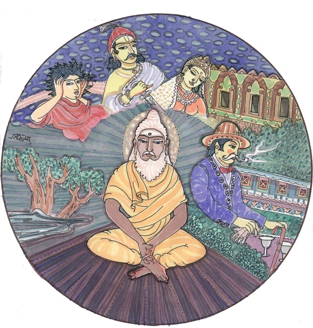 The many lives of a soul.  (Image credit: Himalayan Academy Publications)